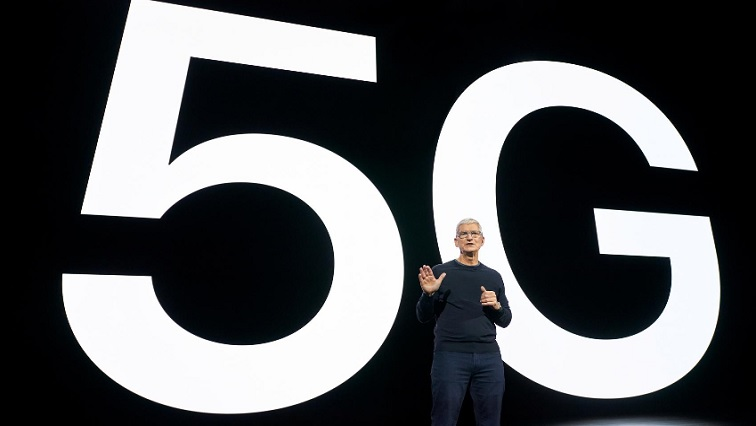 SABC NEWS APPLE R - Apple unveils iPhone 12 with 5G, HomePod Mini smart speaker