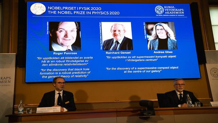 SABC NEWS NOBLE PRIZE R - 2020 Nobel Prize winners for Physics announced