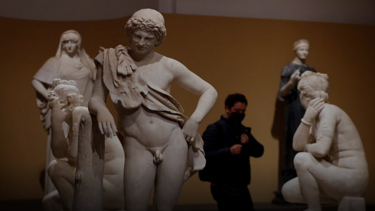 SABC NEWS Roman art R - Ancient statues emerge from the shadows in blockbuster Rome show