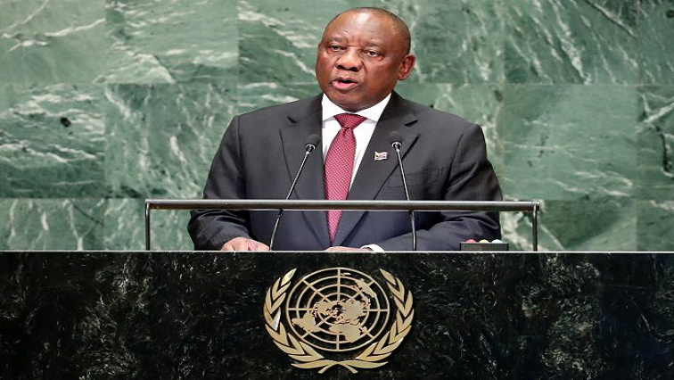 SABC News Cyril Ramaphosa R - AU to put policies in place to increase women's economic participation: Ramaphosa