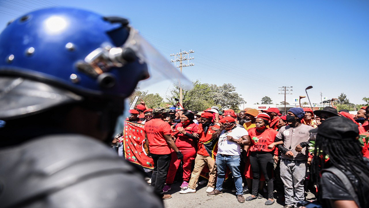 SABC News EFF Twitter @EFFSouthAfrica - EFF shocked over alleged violence against its members at Brackenfell High School