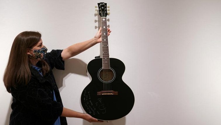 SABC News Guitar R - Taylor Swift, Bradley Cooper guitars to be auctioned for COVID-19 relief