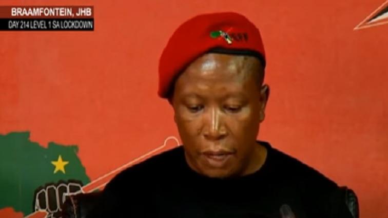 SABC News Malema - EFF against looming retrenchments at SABC