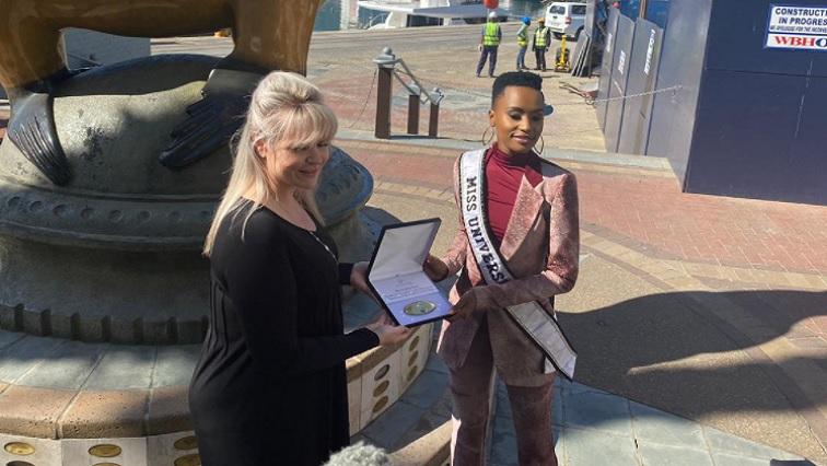 SABC News Miss Universe - Table Bay Hotel honours Miss Universe