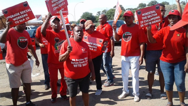 SABC News Nehawu Strike Twitter @ cosatu 1 - Social workers in North West embark on go-slow