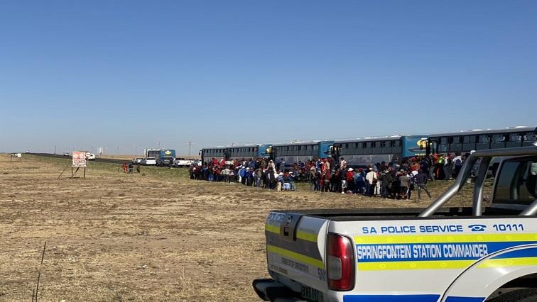 SABC News Senekal Twitter via @samkelemaseko - Thousands of EFF members descend on Senekal