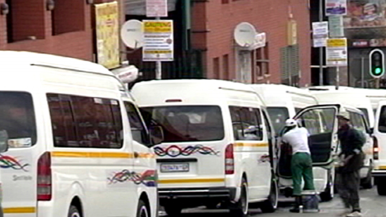 SABC News Taxis 1 - Gauteng commuters left stranded as taxi operators embark on strike