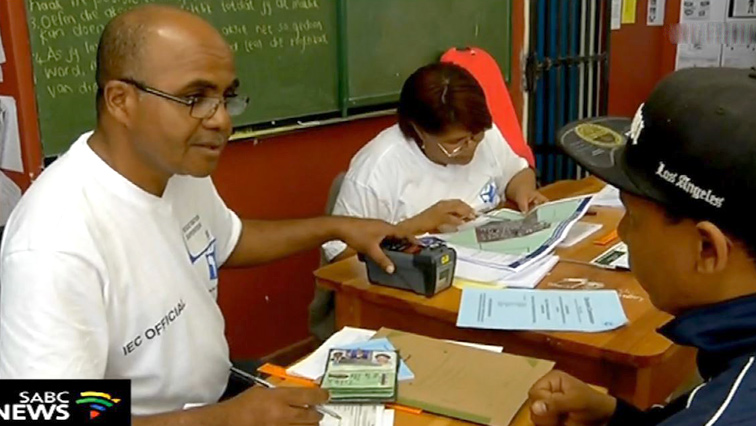 SABC News voter registration - No serious incidents reported on first day of voter registration: IEC