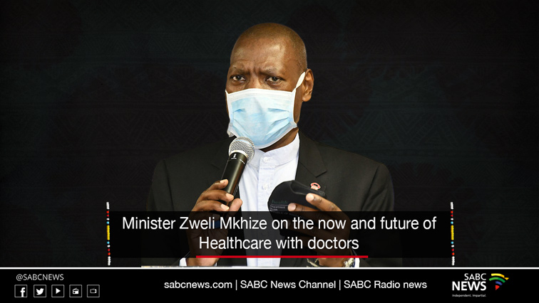 Zweli LiveSite  - LIVE: Discussion with Minister Mkhize on 'The now and future of healthcare with doctors'