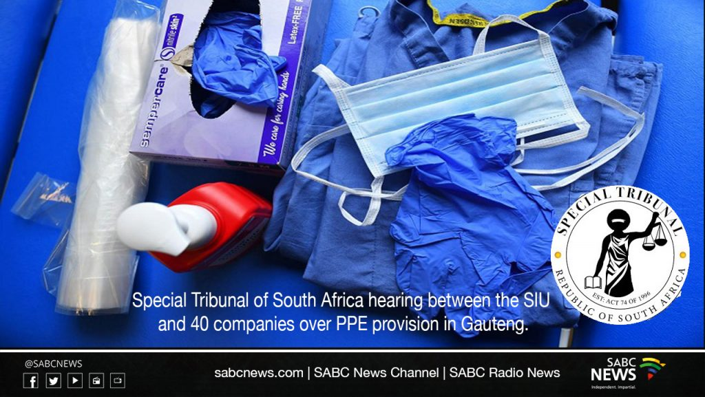 ppelivestream 1024x577 - LIVE | Special Tribunal hearing relating to PPE provision in Gauteng