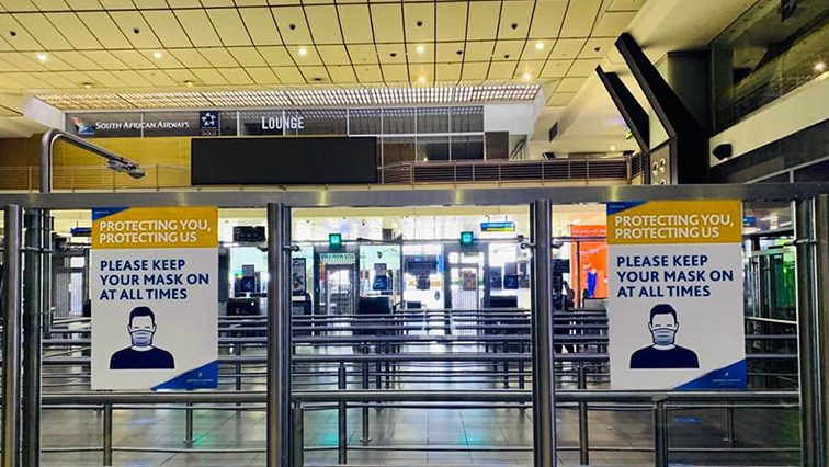 sabc news OR Tambo O.R. Tambo International Airport - All travellers must observe safety protocols when visiting South Africa