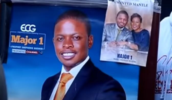 Bushiri poster - Claims that Bushiris smuggled out of SA by car hijacking syndicates
