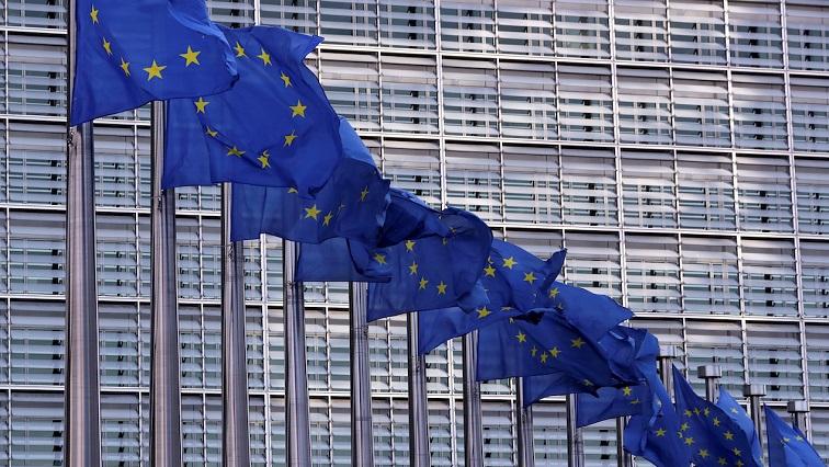 EU Flags REUTERS - EU parliament, governments reach deal on EU 2021-2027 budget