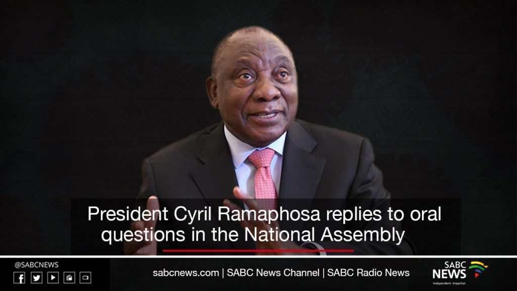 President Ramaphosa card 1024x577 - VIDEO: President Ramaphosa answers oral questions in the National Assembly