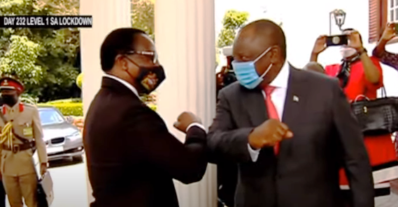 Ramaphosa and Malawian President - South Africa, Malawi renew Economic Cooperation Agreement