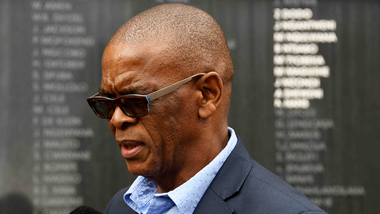 SABC NEWS ACE MAGASHULE 1 - Mabe warns Magashule's supporters against undermining party's leadership