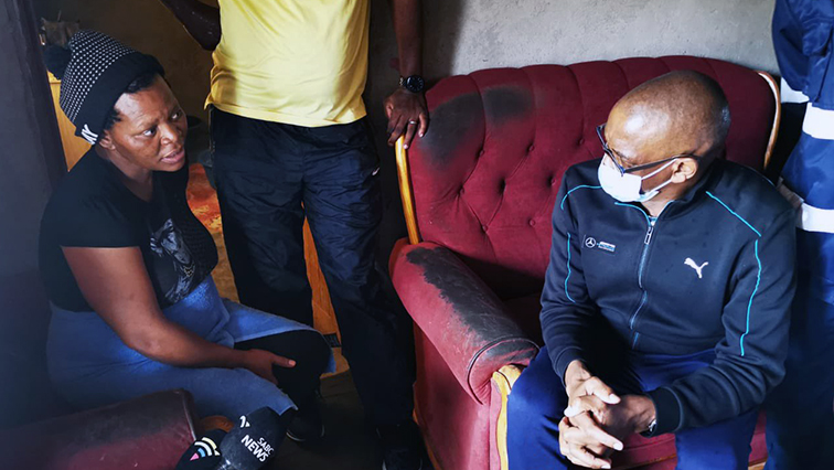 SABC NEWS ACE MAGASHULE @AceMagashule - Households with no income should get free water, electricity: Magashule