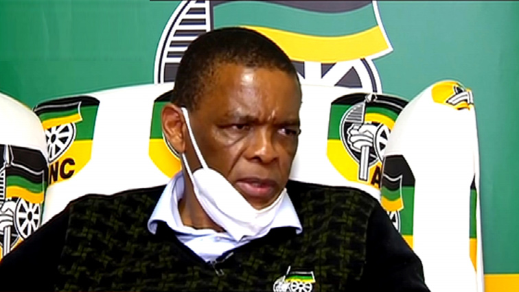 SABC News Ace P - ANC says it has learned through media reports of Magashule's warrant of arrest