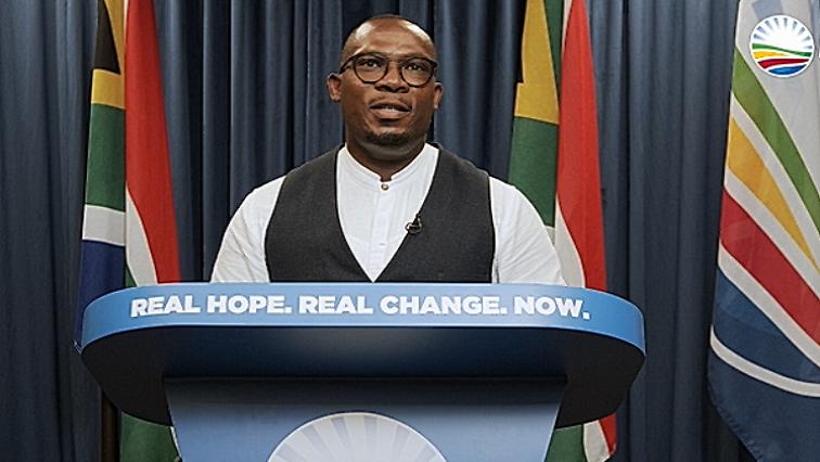 SABC News Bonginkosi Madikizela Twitter @WesternCapeDA - Bonginkosi Madikizela re-elected as DA Western Cape leader