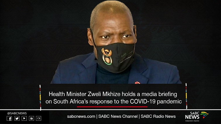 SABC News Dr Zweli Mkhize 1 - LIVE: Health Minister Dr Zweli Mkhize's briefing on COVID-19