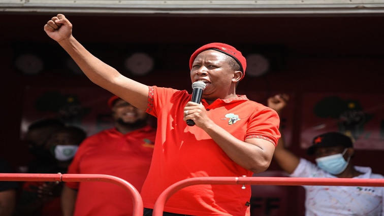 SABC News Julius Malema Twitter @EFFSouthAfrica 1 - AfriForum to monitor NPA's decisions on Malema after threatening remarks on police