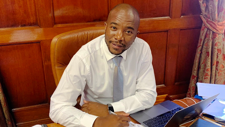 SABC News Mmusi Maimane Twitter @MmusiMaimane - One South Africa Movement to pilot first Basic Income Grant model
