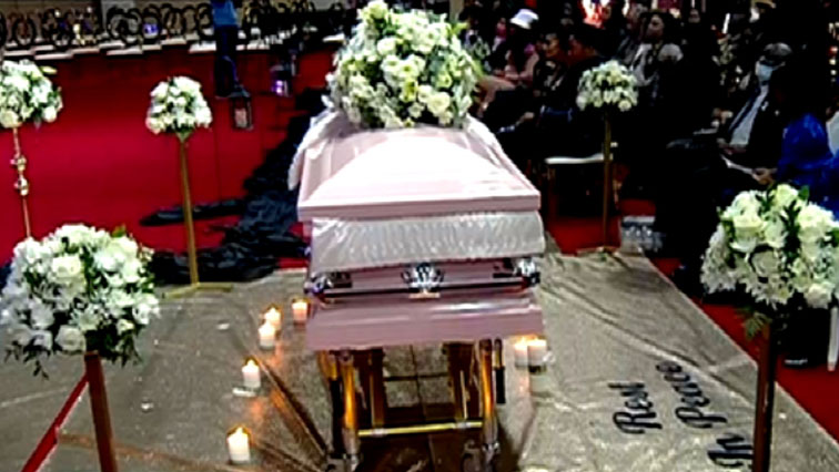 SABC News Mshoza - Queen of Kwaito Mshoza laid to rest at Westpark Cemetery