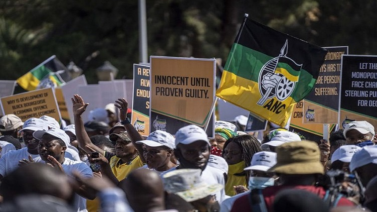 SABC News Supporters Magashule @Niehaus carl - ANC will not tolerate divisive behaviour: Besani