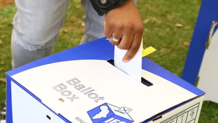 SABC News Vote.jpg Twitter@IEC - Political parties gear up for Wednesday's by-elections