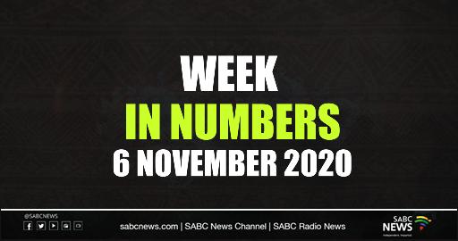 SABC News  In Numbets  6 November 2020 - Video | Week in Numbers: 6 November 2020