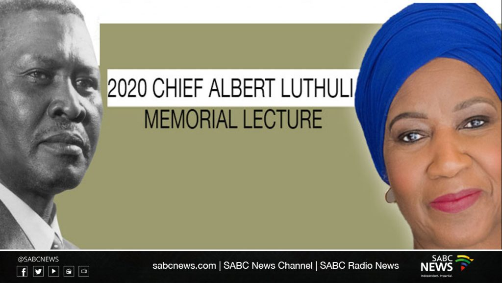UKZN Luthuli Webinar 1024x577 - LIVE: Mlambo-Ngcuka delivers memorial lecture in honour of Chief Albert Luthuli