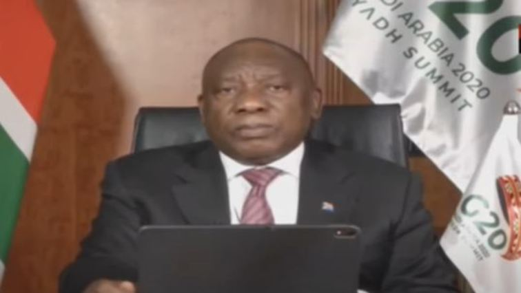 rama 756x426 - Ramaphosa urges G20 nations to help address debt in developing countries
