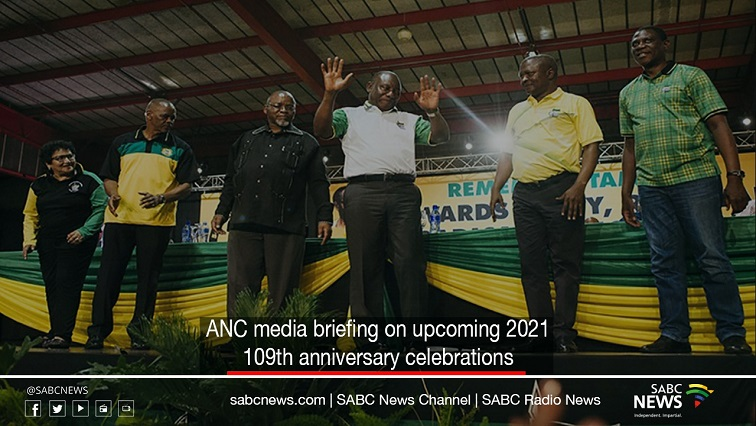 ANC Jan 8 statement briefing - LIVE: ANC media briefing on 109th January 8 celebrations