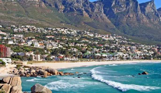 Cape film shoot 1 - Map: COVID-19 hotspots in South Africa