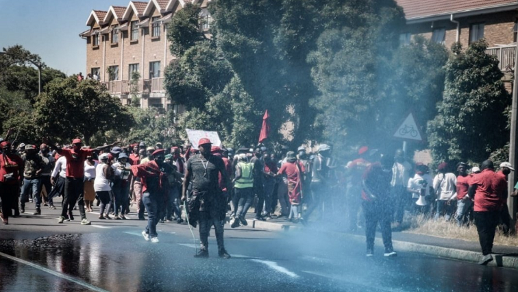 Protest Brackenfell High Twitter @EFFSouthAfrica - An interdict application to stop the EFF from protesting outside Brackenfell High School to be heard