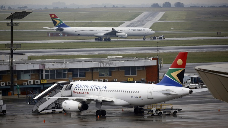 SAA Reuters - Four unions accept SAA's payment of three months' salaries