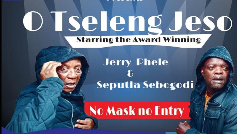 SABC NEWS SEPUTLA - Seputla Sebogodi and Jerry Phele star in theatre political satire about coming of Jesus