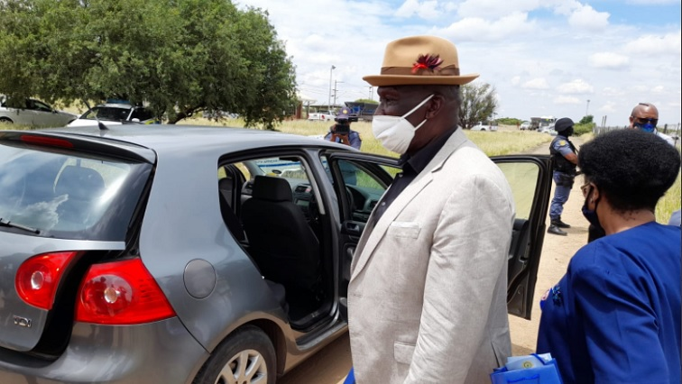 SABC News Cele Twitter@SAPS - Minister Cele calls on police to take a hard line against crime