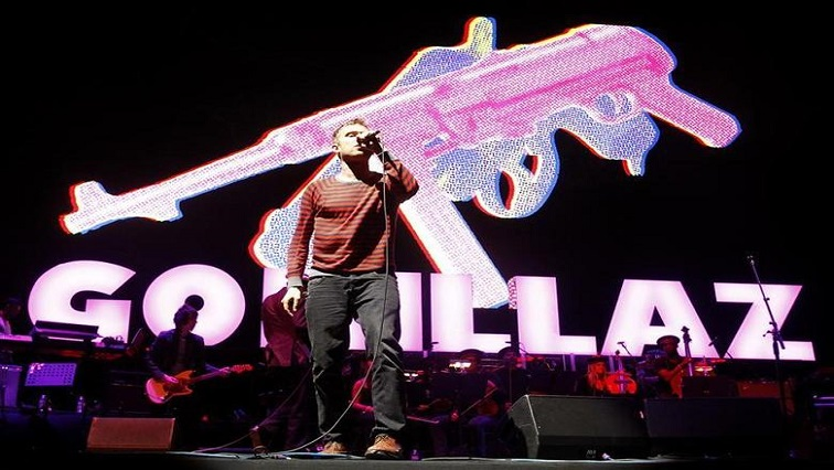 SABC News Damon Albarn Reuters - Cartoons and live performers combine in online Gorillaz gigs