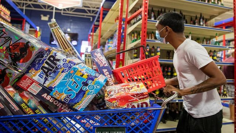 SABC News Fireworks in trolley Reuters - South Africans express varying views about use of fireworks to usher in the New Year
