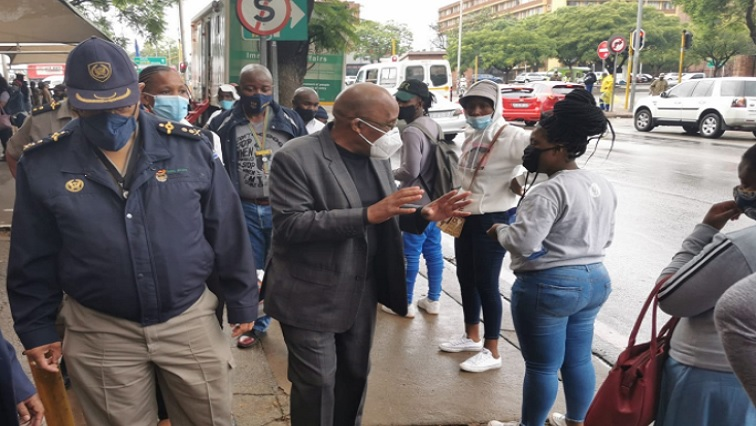 SABC News Motsoaledi Twitter - We are not going to allow people into SA without COVID-19 certificates: Motsoaledi