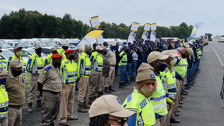 SABC News Safety Mpumalanga @MbalulaFikile - Cele urges law enforcement officers to tighten the grip on criminals