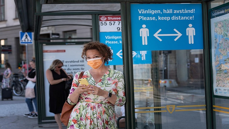 SABC News Sweden Masks Reuters - Sweden recommends masks for rush hour, as COVID-19 deaths hit record