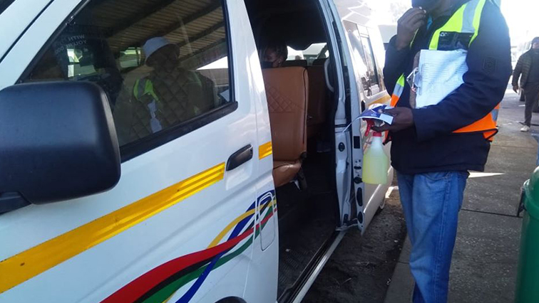 SABC News Taxi COVID 19 - SANTACO, KZN Community Safety monitoring COVID-19 regulations compliance in taxis