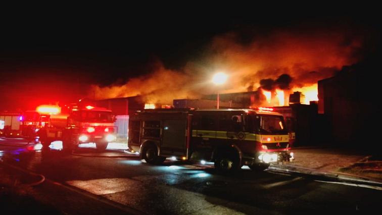 SABC News fire - Milnerton factory fire under investigation after blaze gutted three buildings