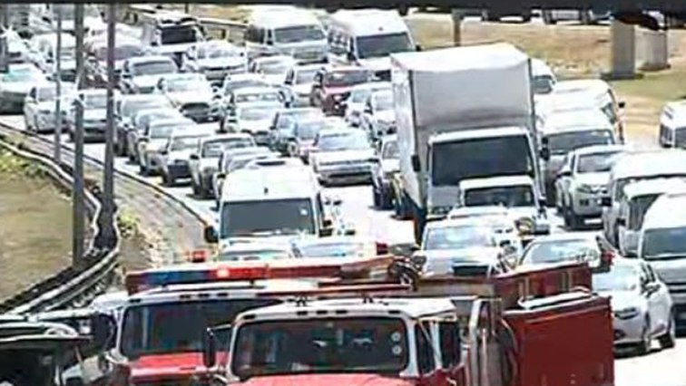 SABC News Traffic 1 - 'Truck drivers are to blame for the current congestion at the Beitbridge Border Post'