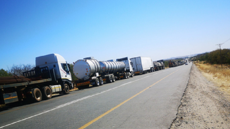 trucck1 - Home Affairs appeals for truckers to use alternate ports of entry amid Beitbridge chaos