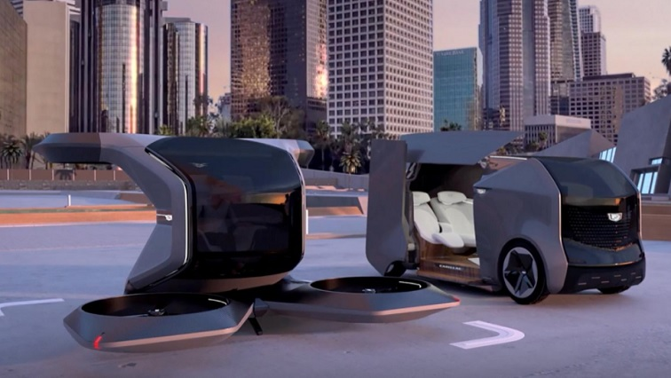 SABC NEWS Cadillac R - Look, up in the sky – it's a flying Cadillac! GM unveils futuristic vehicle