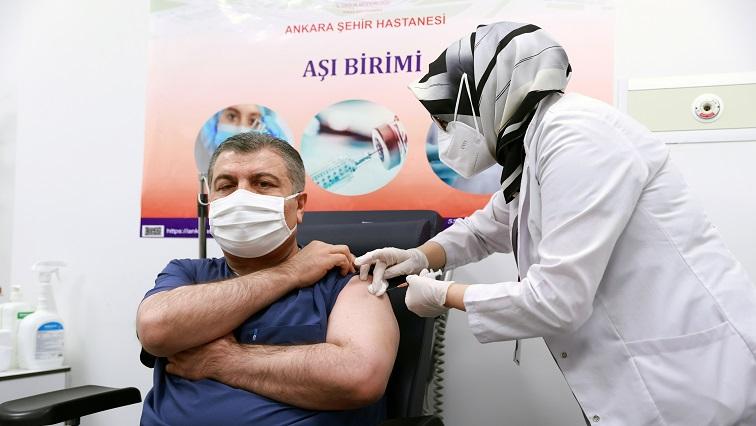 SABC News COVID Turkey Reuters - Turkey to begin mass COVID-19 vaccination on Thursday with Sinovac shot