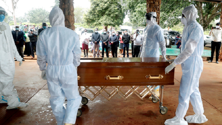 SABC News Funerals COVID 19 R - Wary undertakers pinning hopes on SA getting a vaccine